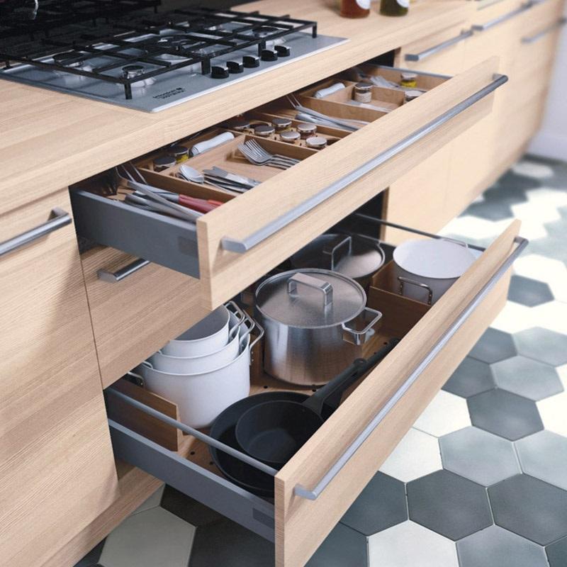 Astuce Rangement Cuisine Tiroir Casserolier