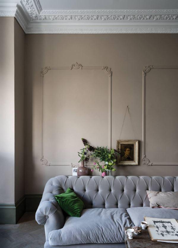 Peinture Salon Couleur Argile Jitney N293