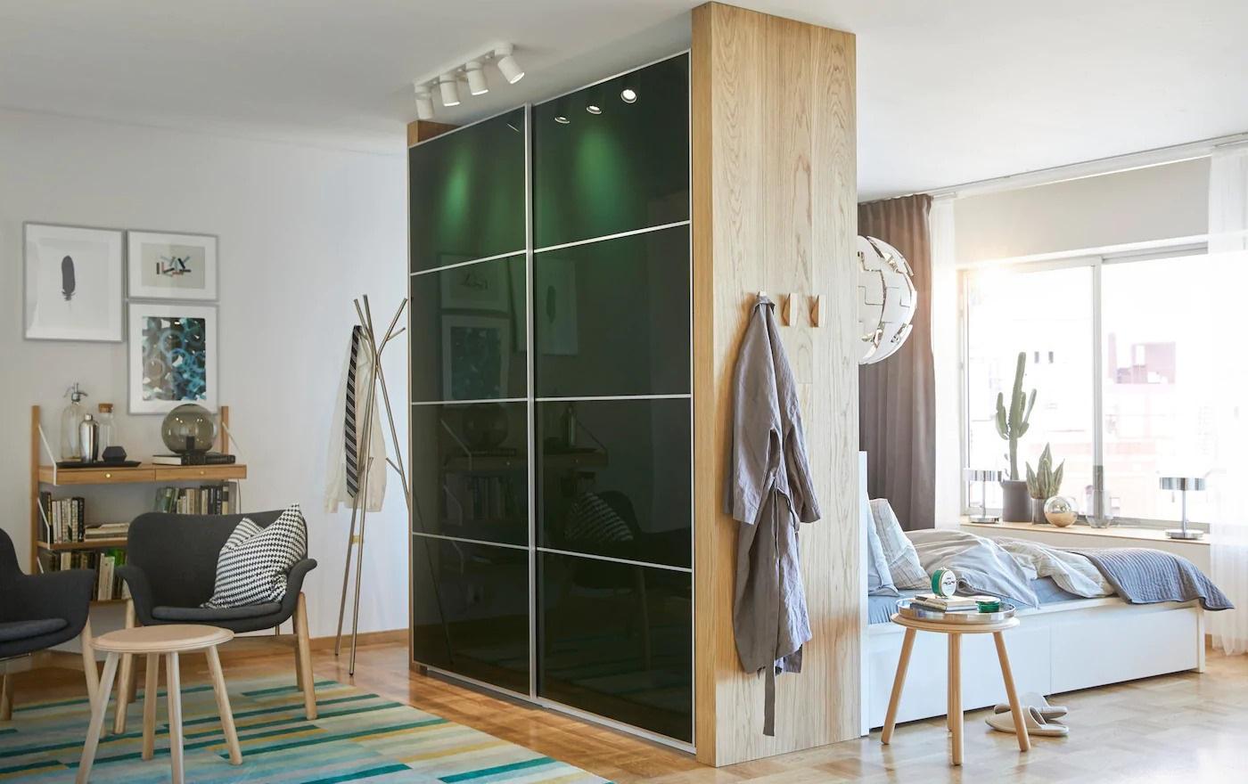 Cloison Amovible Armoire Portes Design