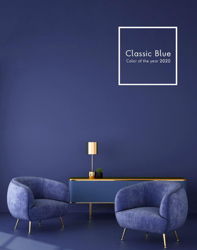 Peinture Salon Couleur Classic Blue