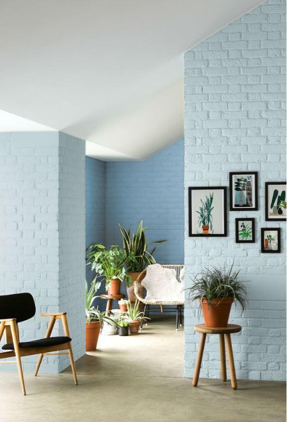 Peinture Salon Couleur Bleu Ciel Bleu Fjord