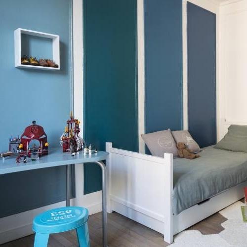 Chambre D'enfant Camaieu Bleu