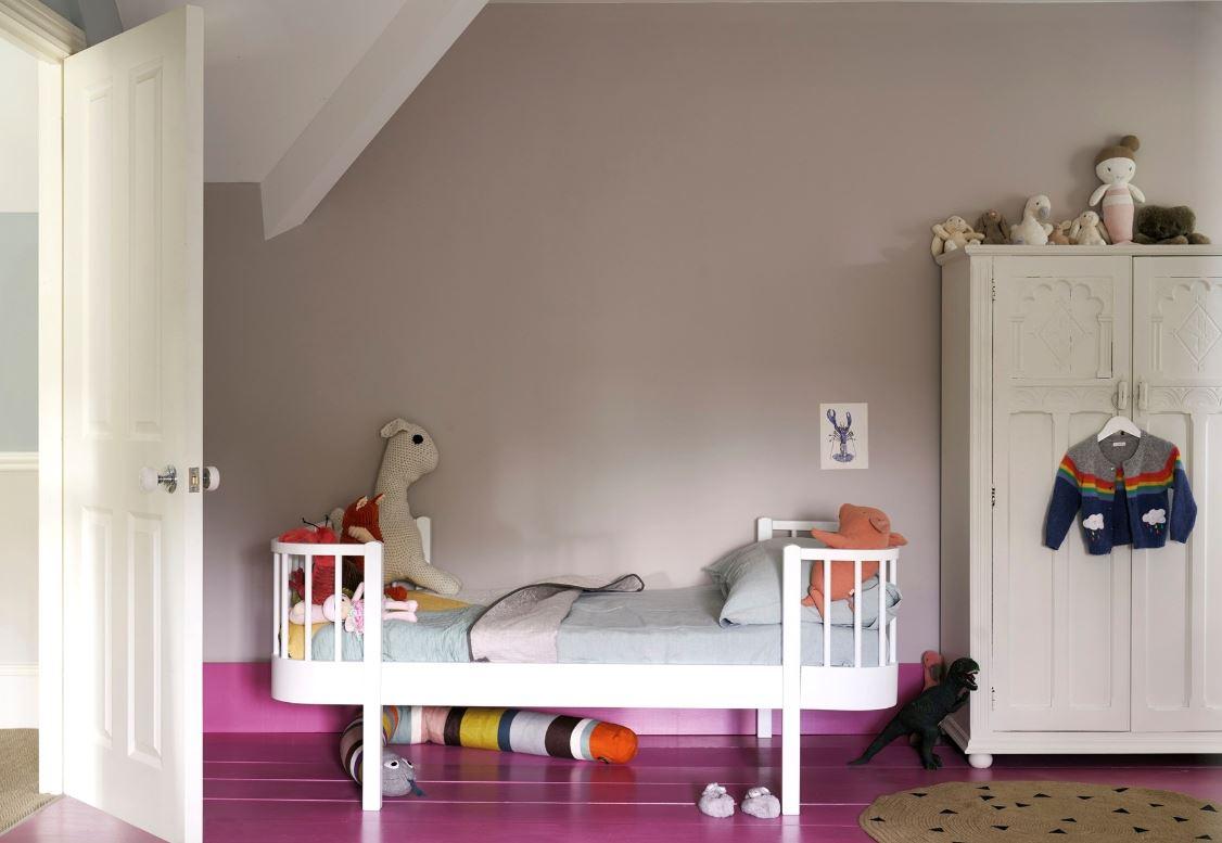 Chambre D'enfant Couleur Taupe Et Framboise