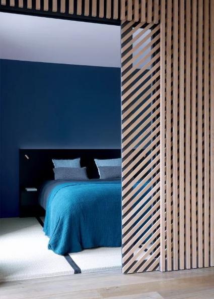 Chambre Bleu,
