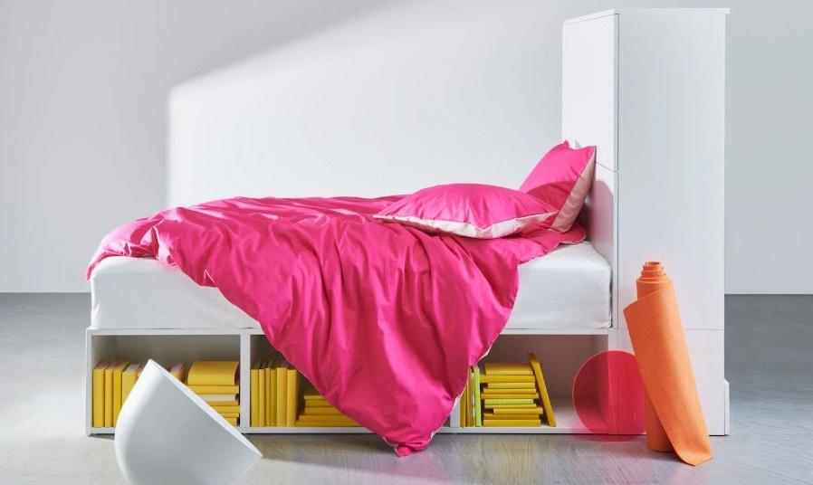 Chambre Ikea Avec Rangement Sous Le Lit
