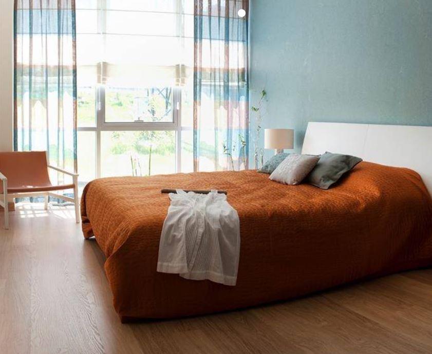 Chambre Orange Et Bleue
