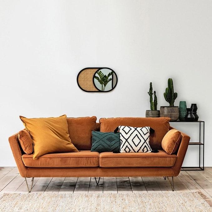 Decoration Avec Canape Ocre