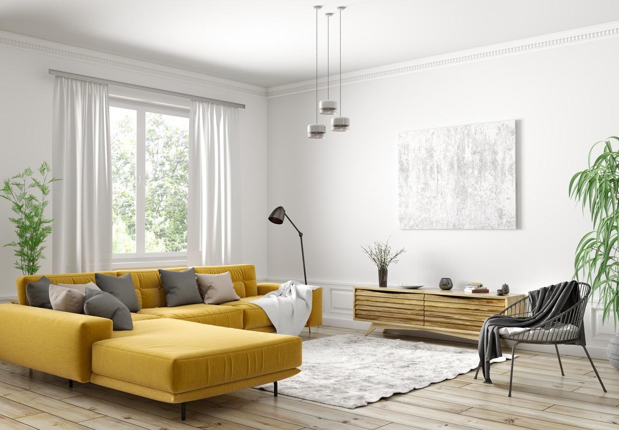 Decoration scandinave jaune