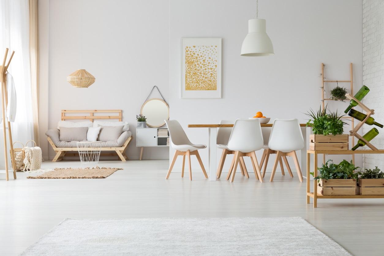 deco salon scandinave  40 idées pour trouver l'inspiration