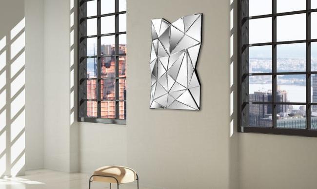 Grand Miroir Mural Origami