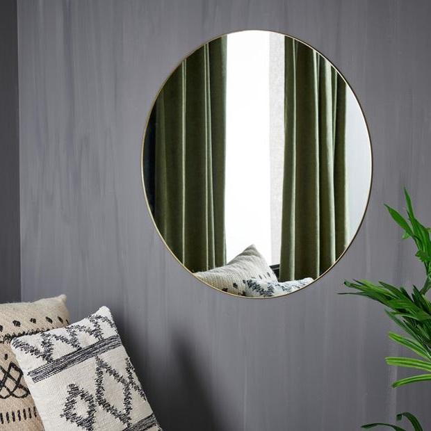 Grand Miroir Mural Rond