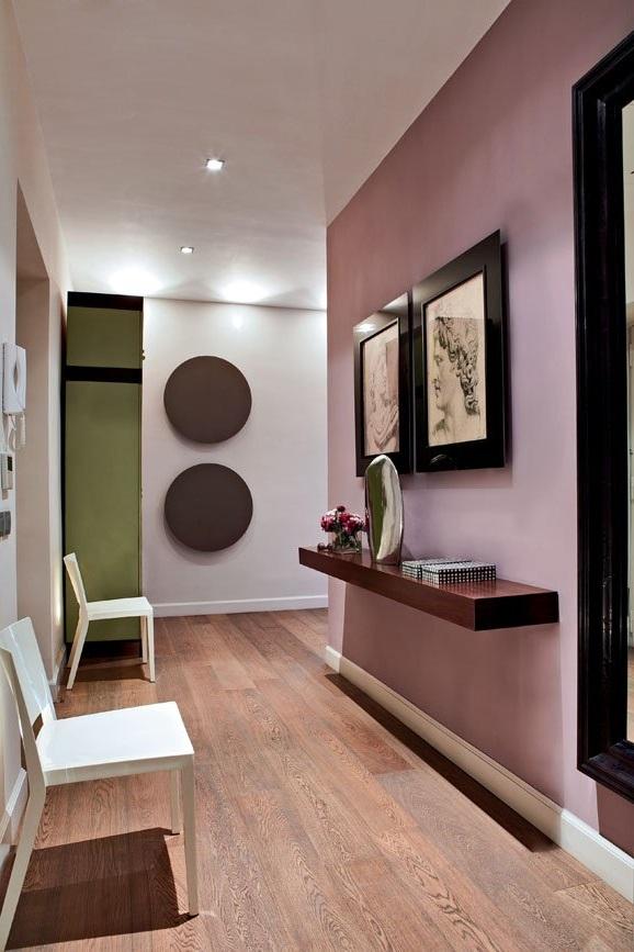 Inspiration Couloir En Peinture Rose Cinder, Prix En Fonction De La Finition