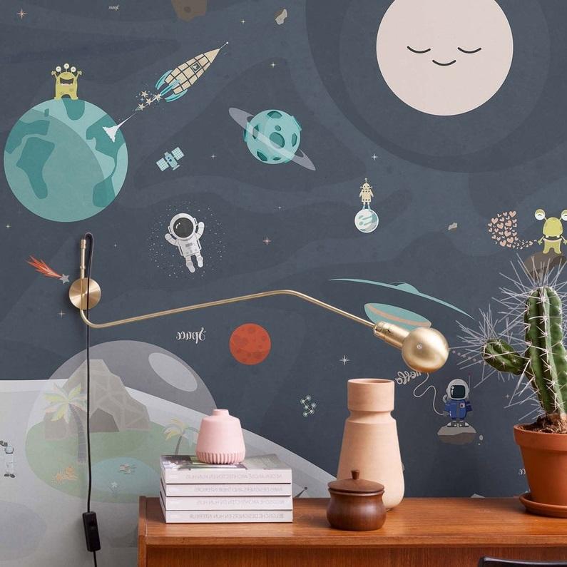 Papier Peint Enfant Space