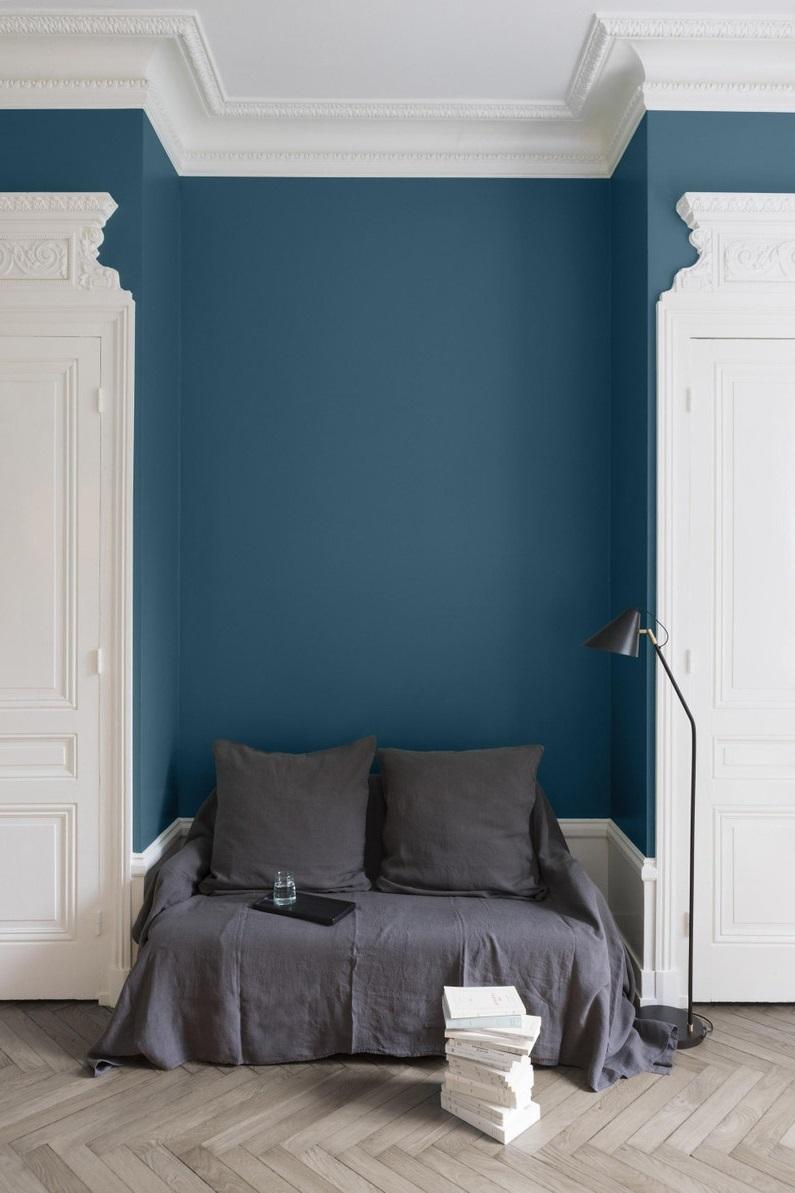 Peinture Murale Bleu Paon Liberon