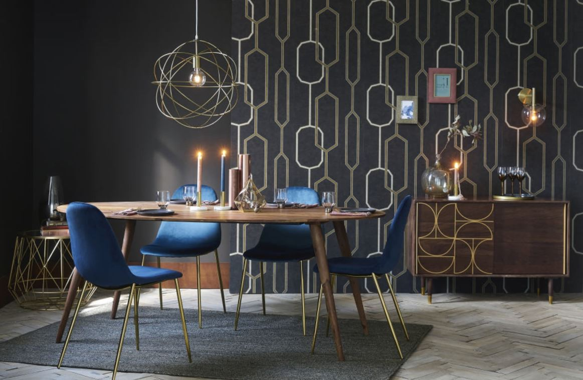 Table D'appoint Doree