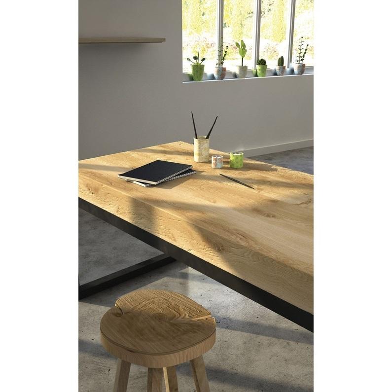 Table Relookee Et Finit à L'huile
