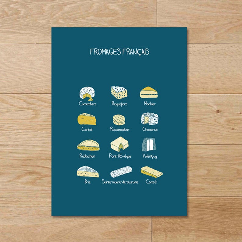 Affiche Fromage