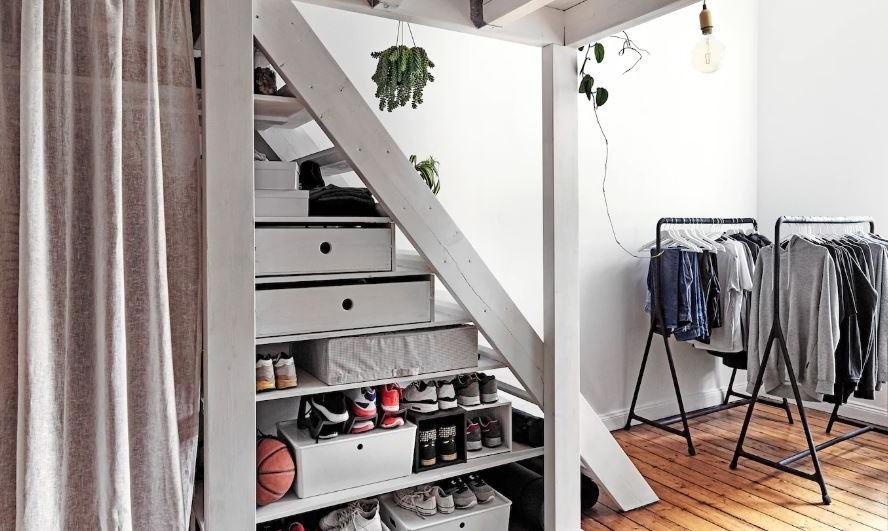 Escalier 30 Idees D Amenagements Gain De Place
