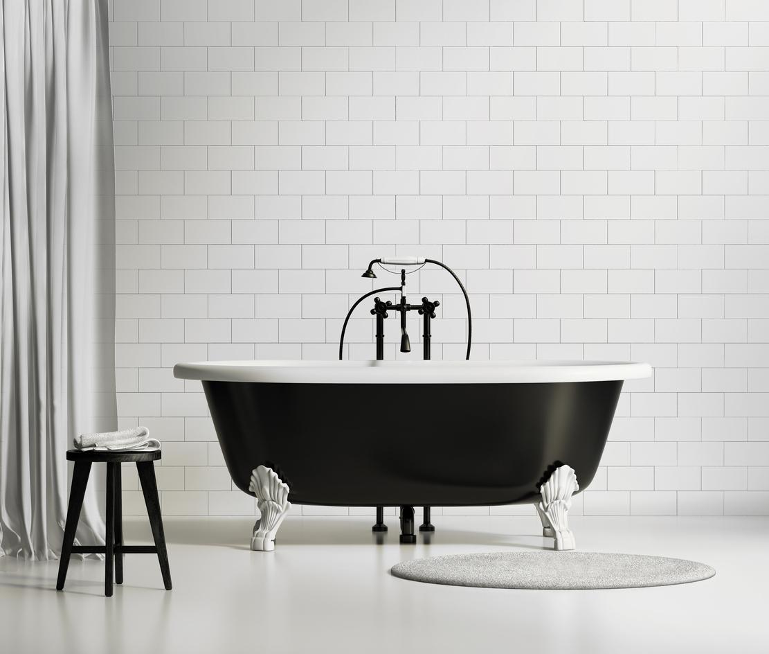 Baignoire à Pied Ancienne