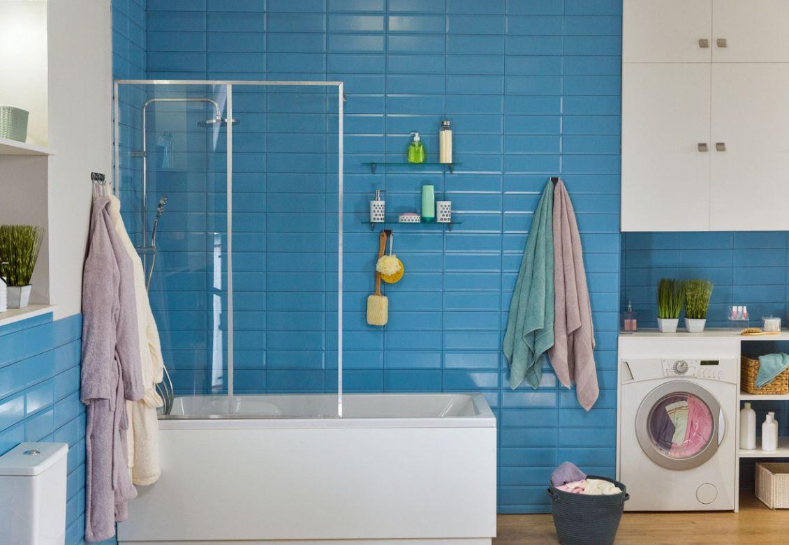 Carreaux Bleu Turquoise Salle De Bain