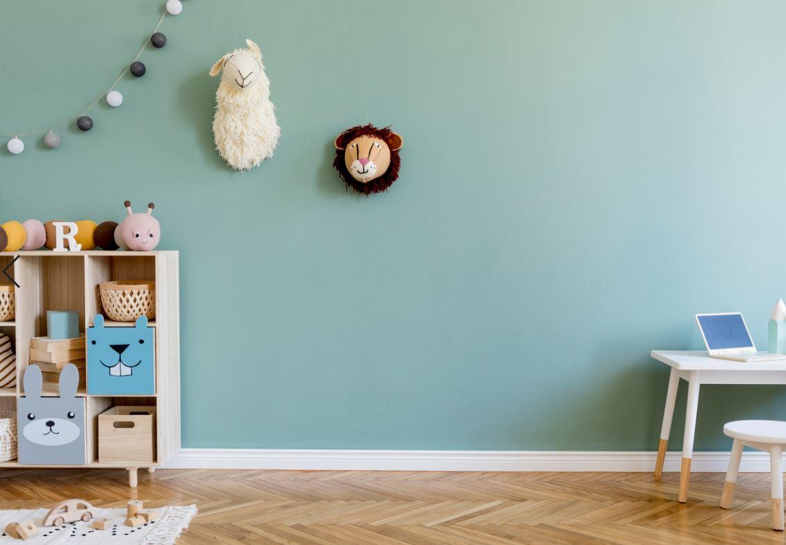 Chambre De Bébé Bleu
