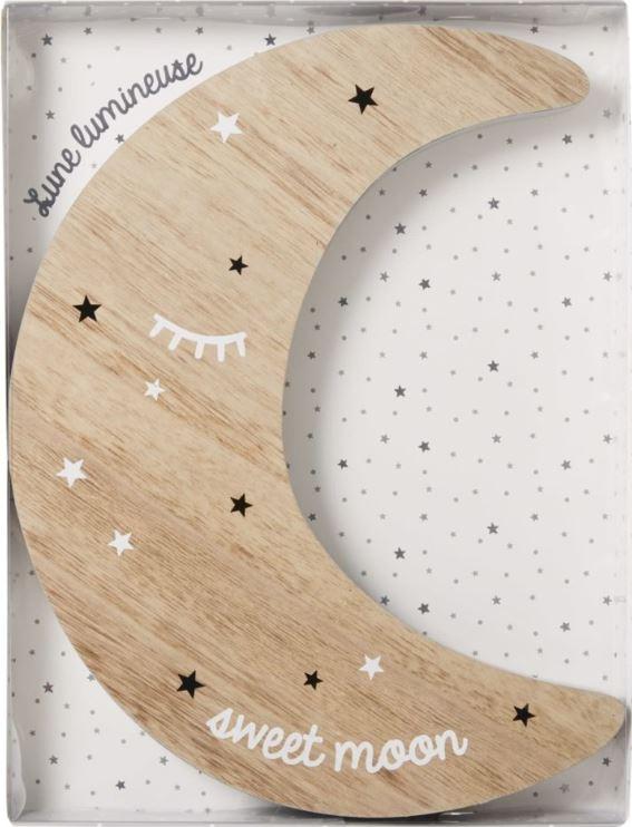 Déco Lumineuse Murale Lune