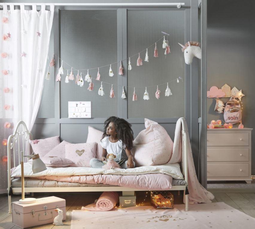 Déco Murale Tête De Licorne Chambre D'enfant