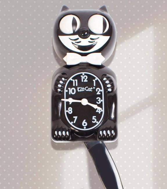 Décoration Murale Horloge Chat