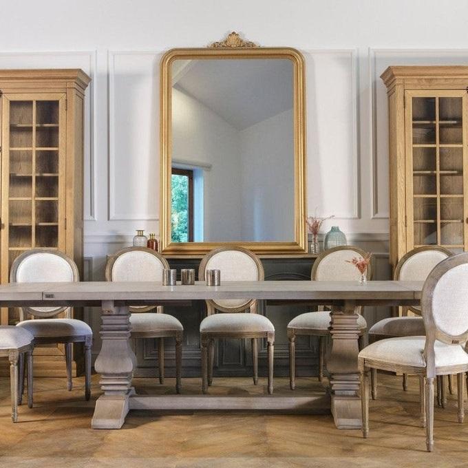 Grand Miroir Mural Dore 479 La Redoute