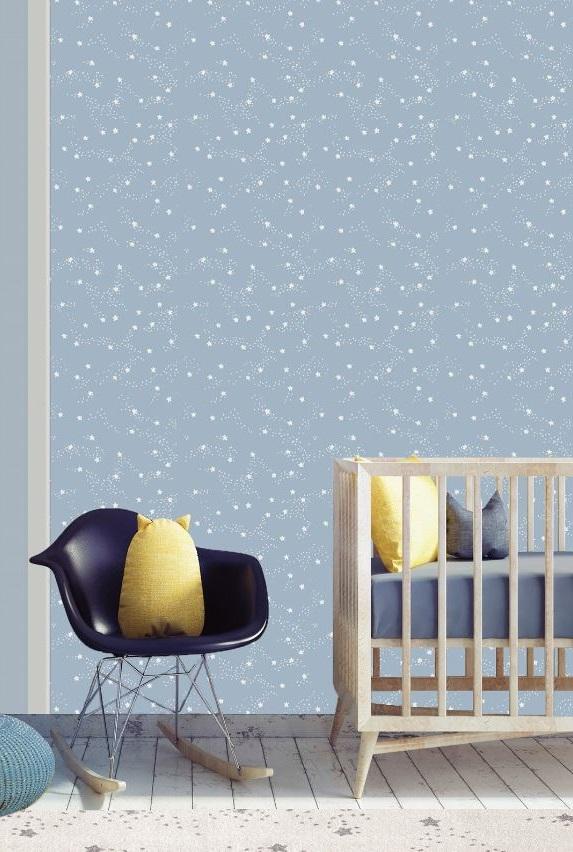 Papier Peint Pour Chambre D'enfant étoilé