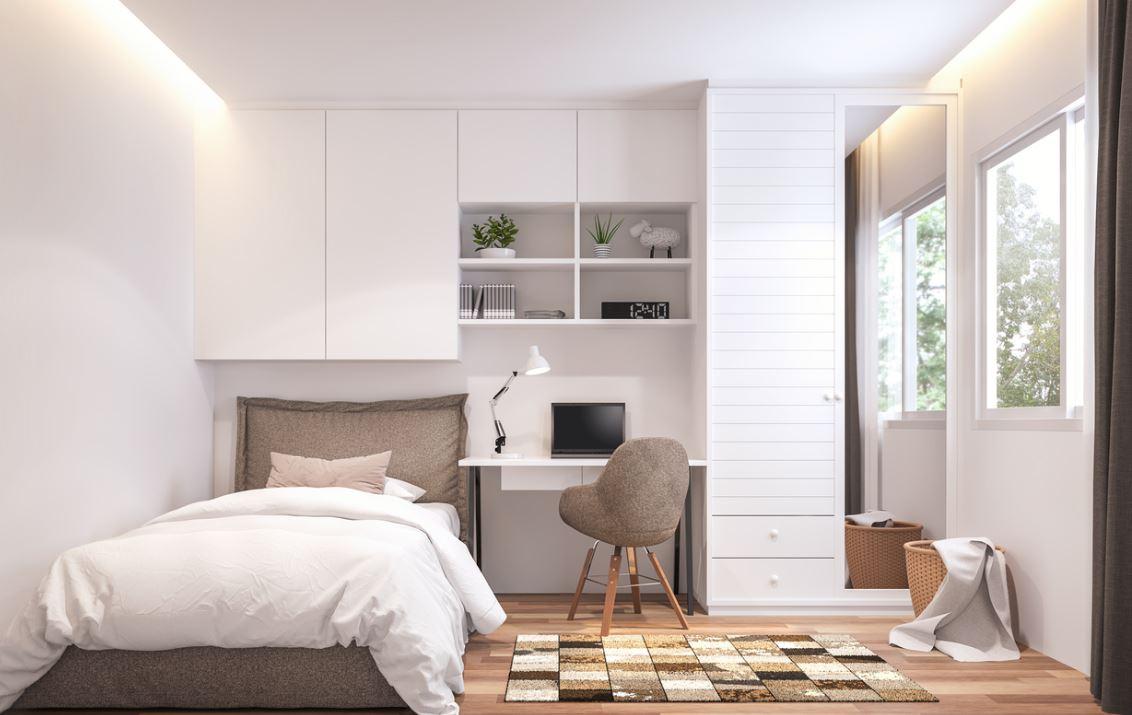 Aménager petite chambre  12 idées pour optimiser l'espace
