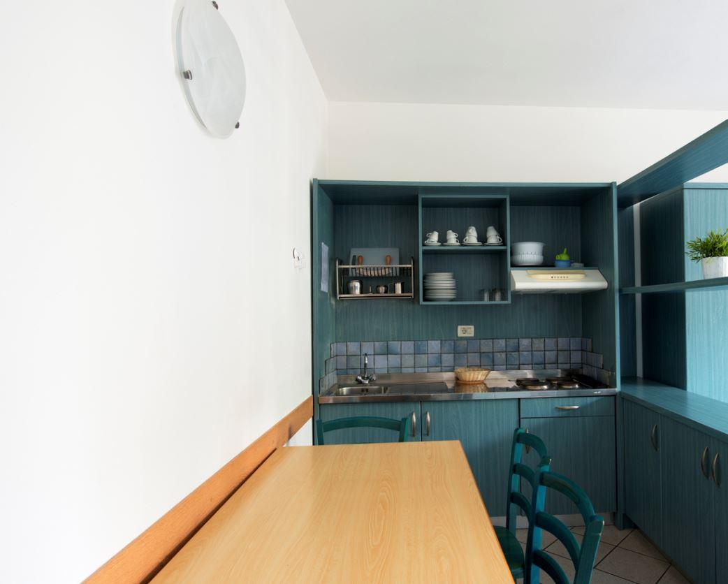Salle à Manger Cuisine Bleu Turquoise