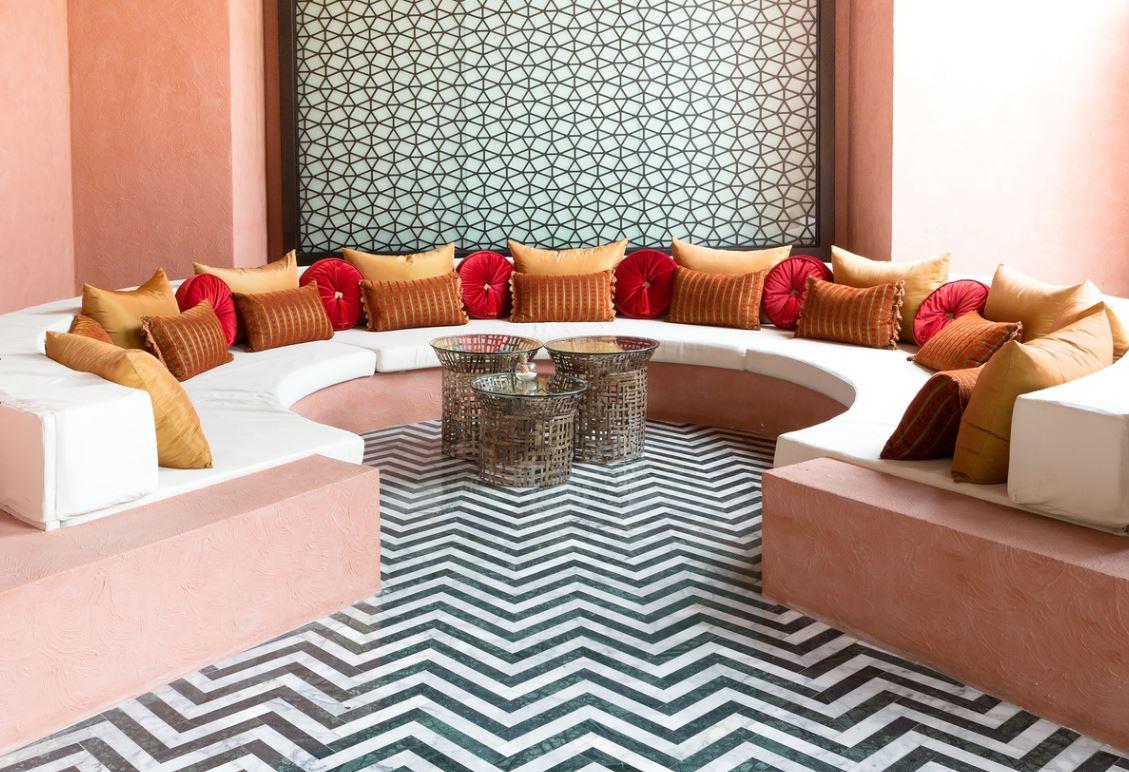 Salon Marocain Avec Canapé Larges