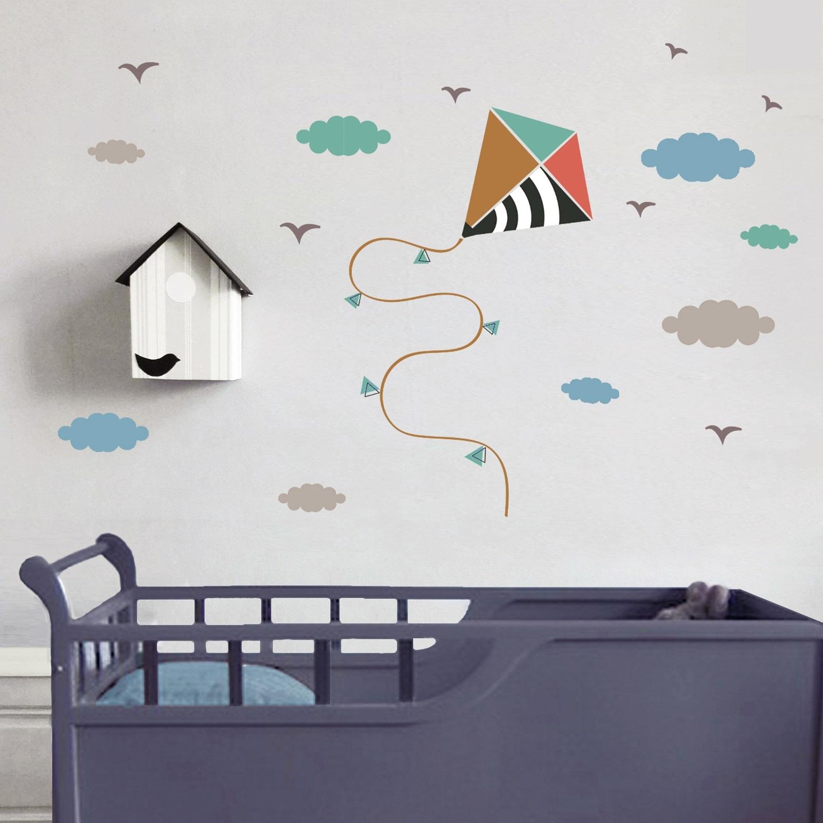 Sticker Cerf Volant Chambre D'enfant