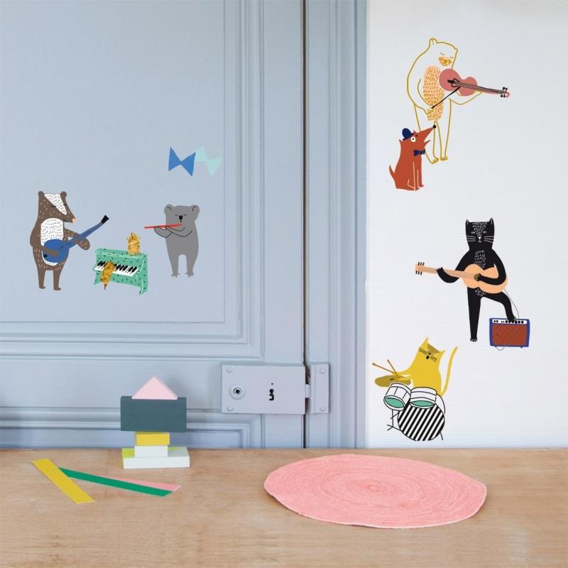 Sticker Chat Pour Chambre D'enfant