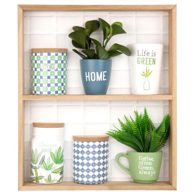 Tableau étagère Plantes, Cadre Déco
