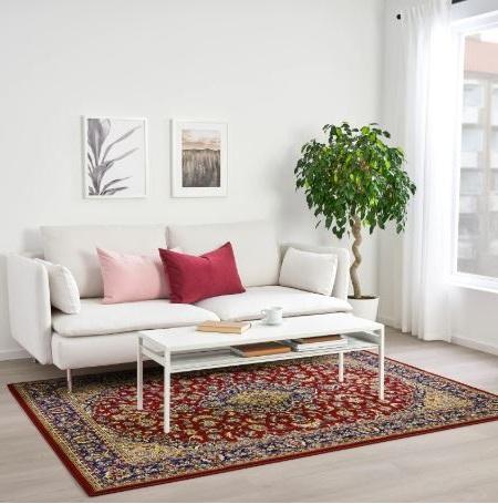 Tapis Ikea Multicolore Oriental