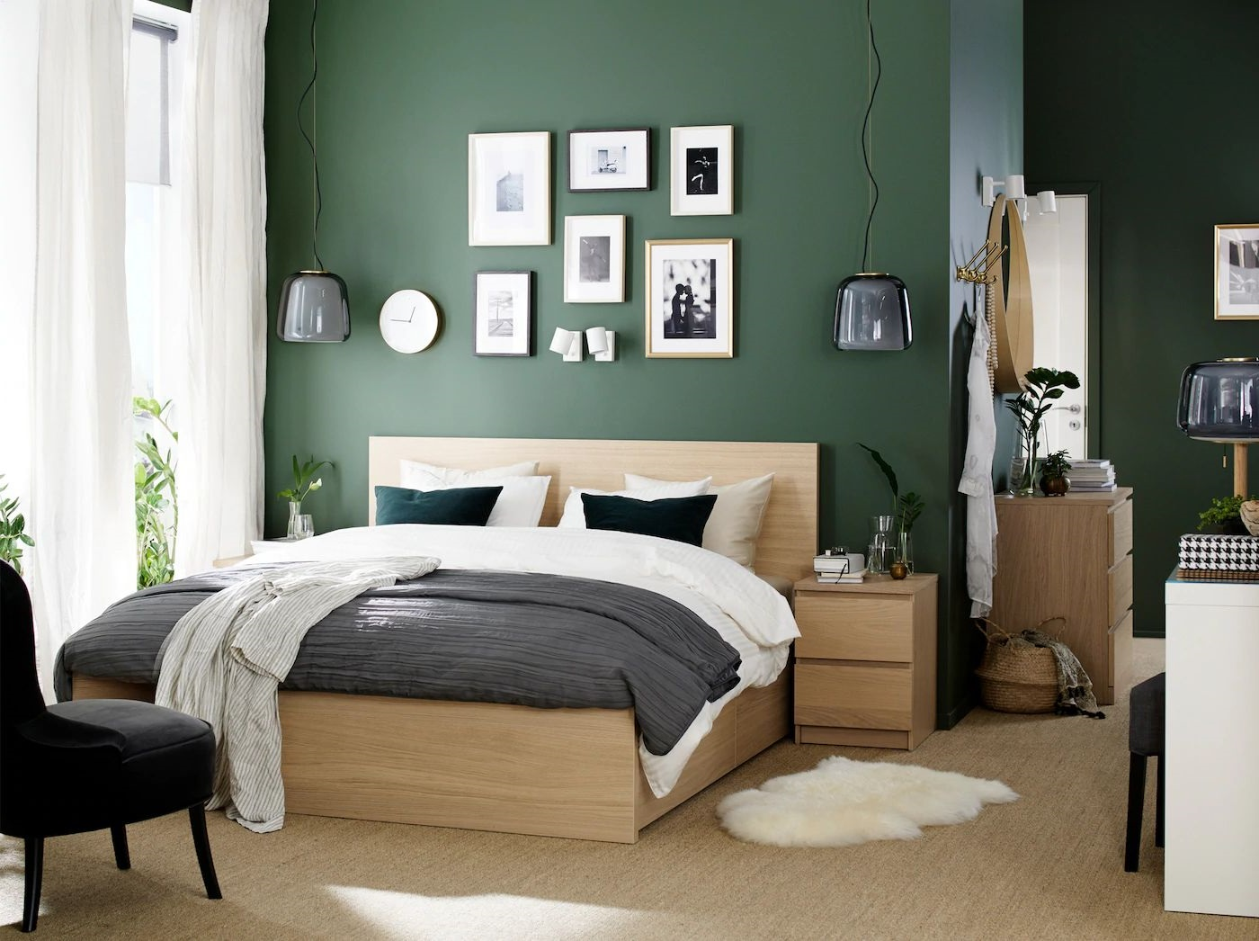 Chambre A Coucher Parentale Moderne Vegetalisee