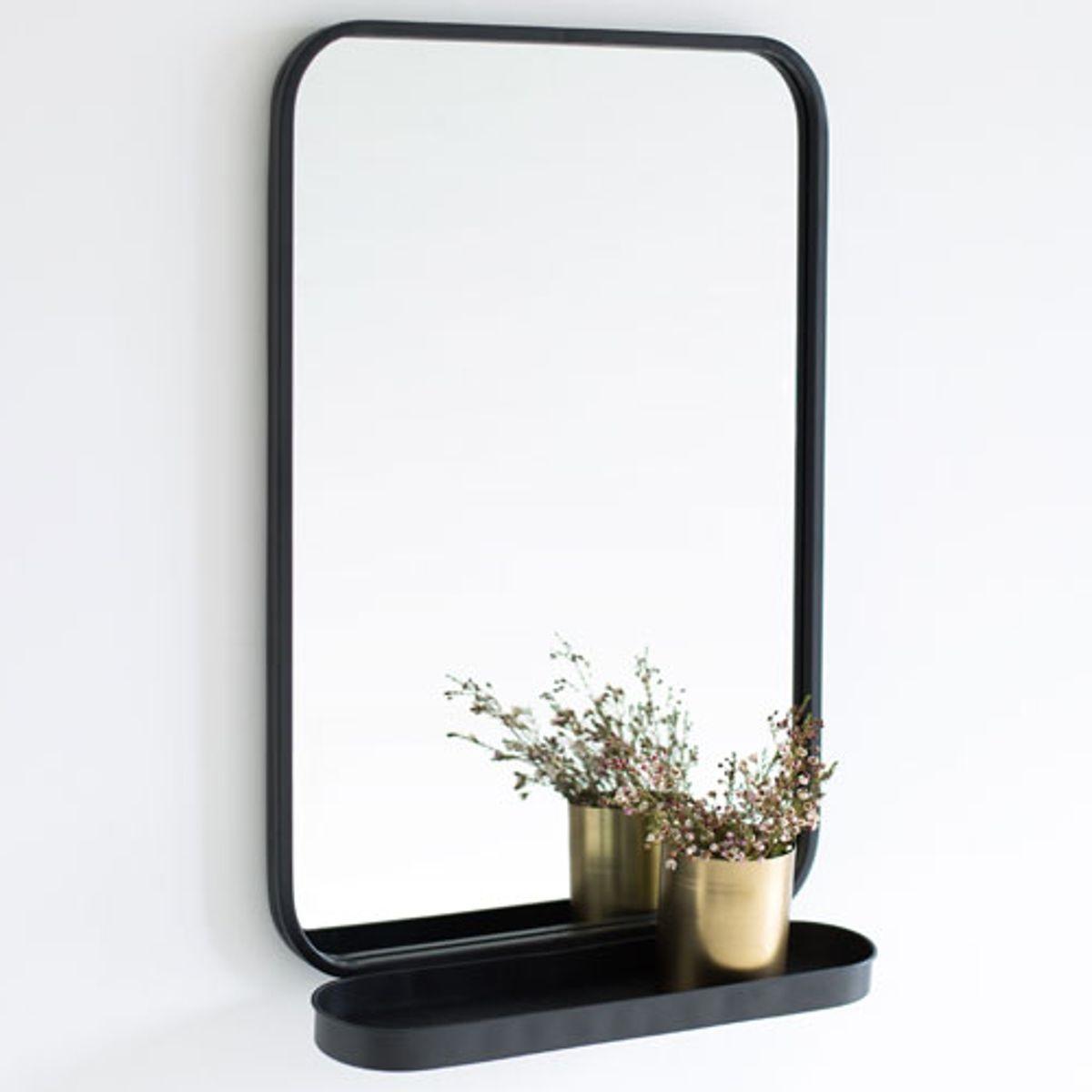 Miroir Avec Etagere