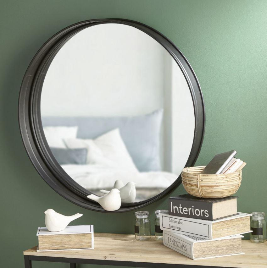 Miroir Rond Chambre Parentale Moderne
