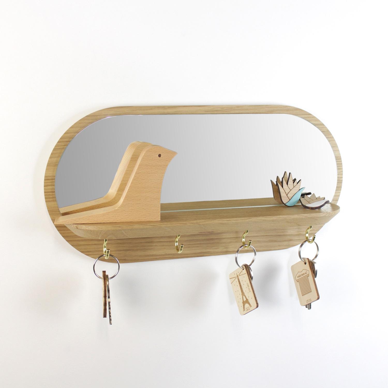 Miroir Accroche Cle