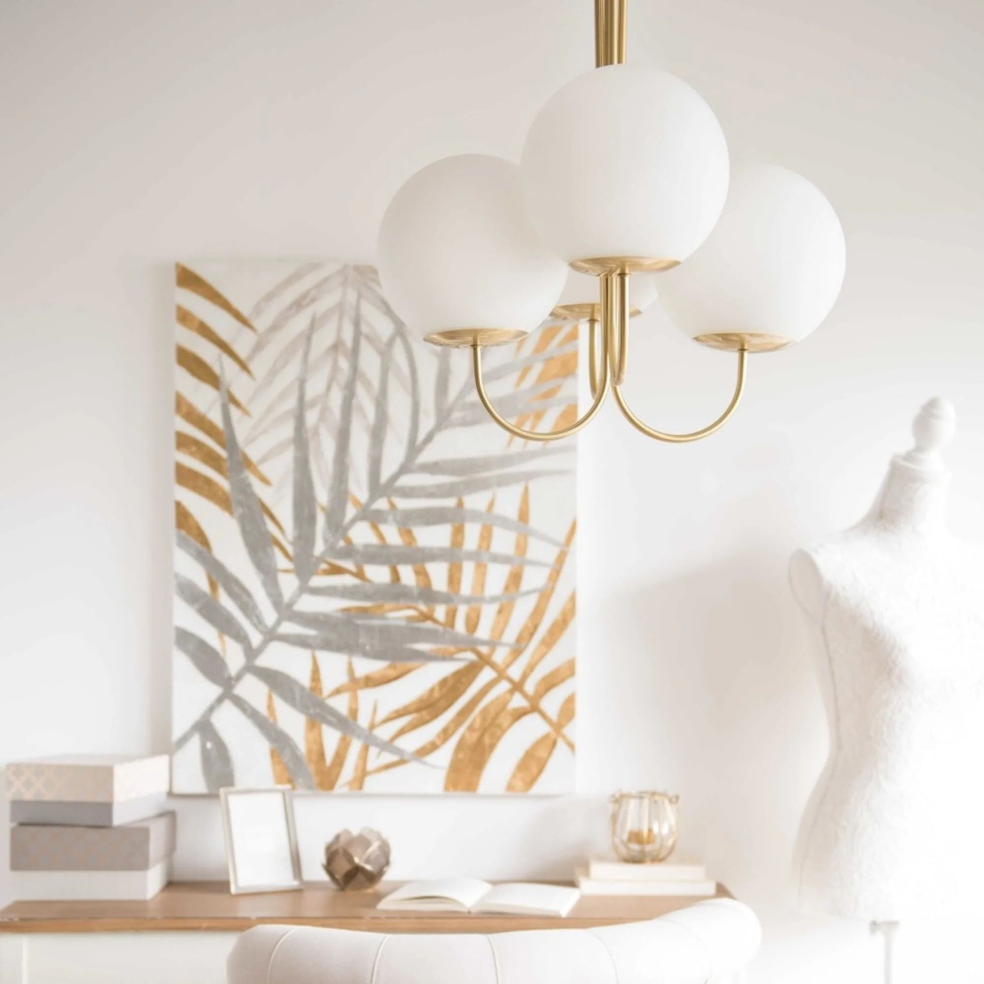 Malone Lustre Globes Opaques