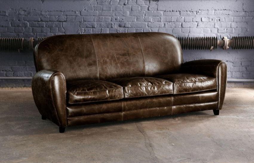 Canape En Cuir Oxford