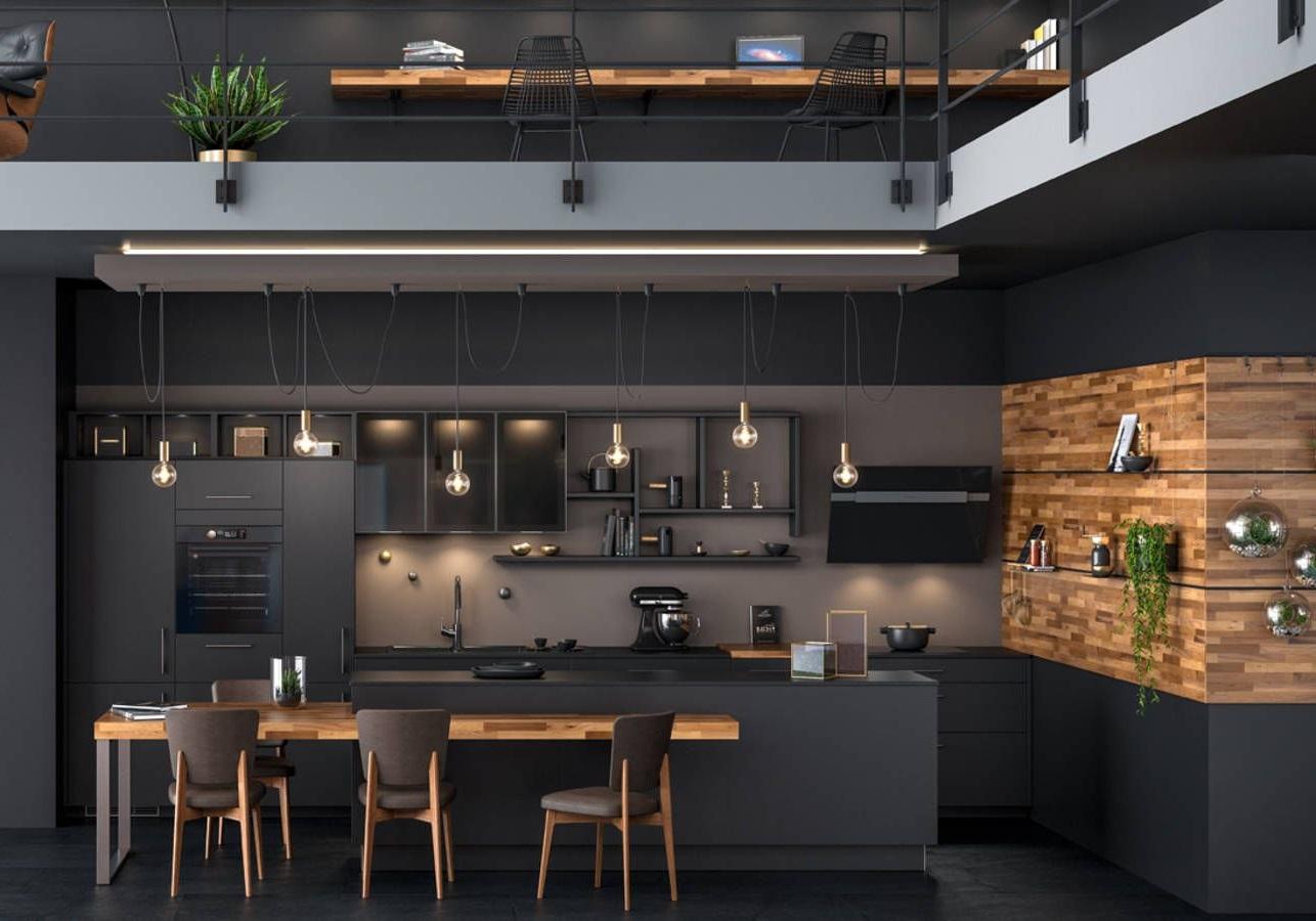 Cuisine Moderne Ambiance Loft