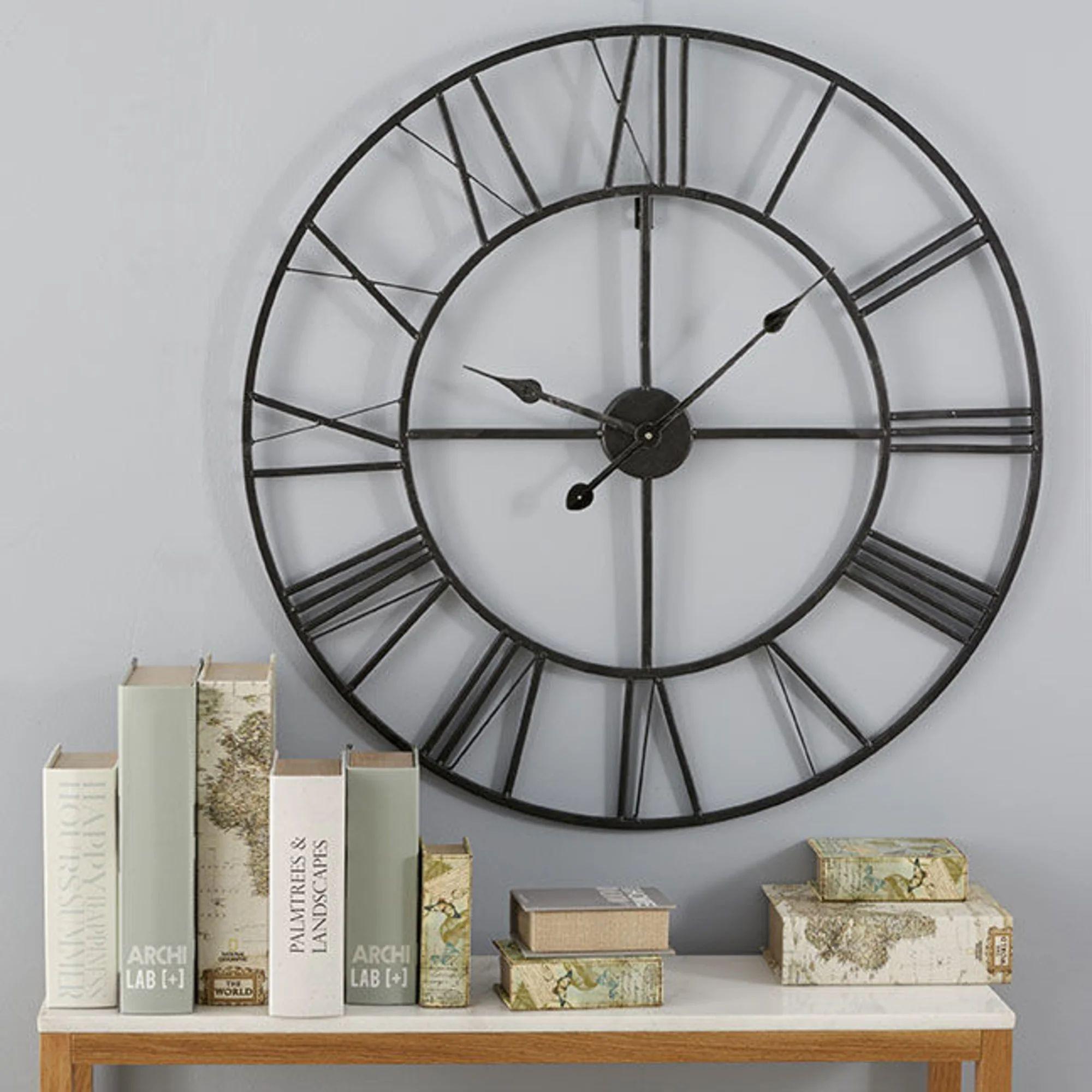 Horloge Factory En Metal