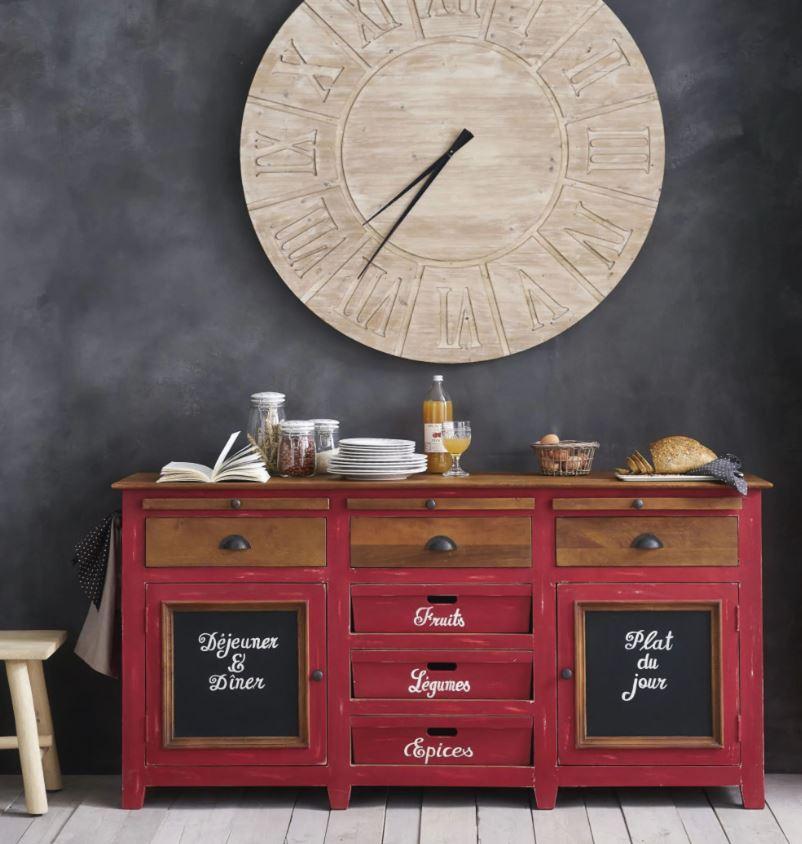 Horloge En Sapin Louvain D120