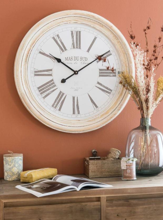 Horloge Murale En Bois Ponsano
