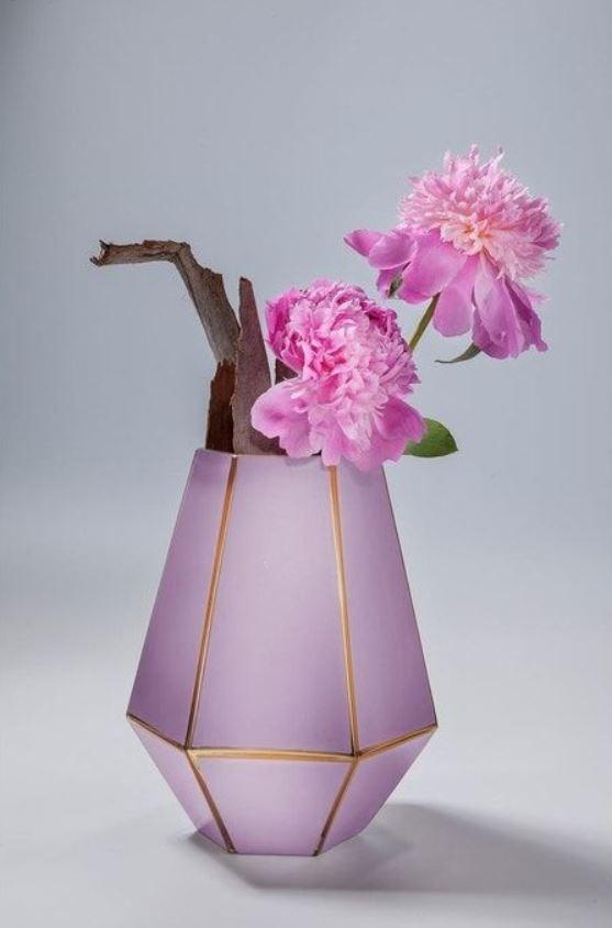 Vase Art Violet Pastel