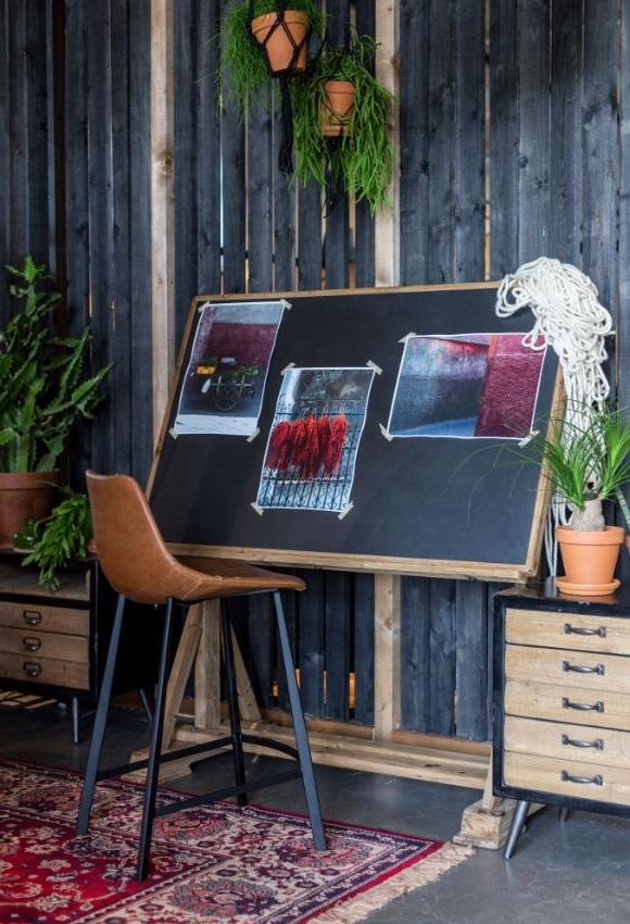 Bureau Factory Inspiration Atelier D'artiste Bureau En Bois De Sapin Stilo
