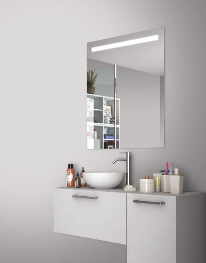 Miroir Avec éclairage Integre